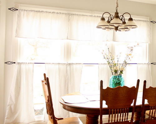 How to Sew Cafe Style Curtains
