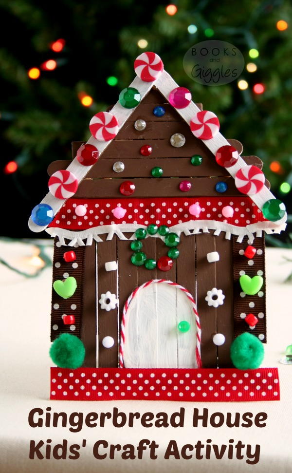 Storybook Gingerbread House Allfreekidscrafts Com