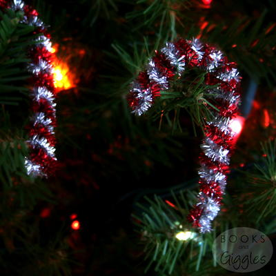 Easy Candy Cane Ornament