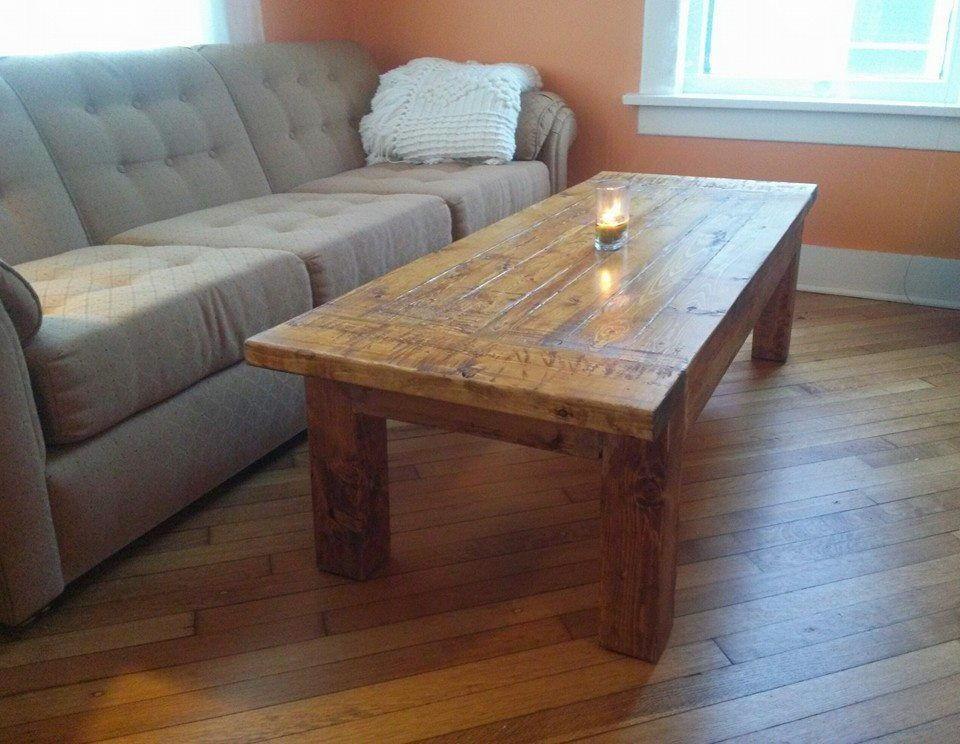 Rustic Diy Coffee Table