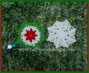Christmas Star and Snowflake