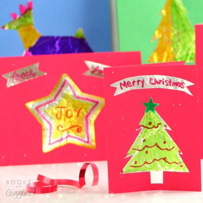Merry & Bright Kids' Christmas Cards