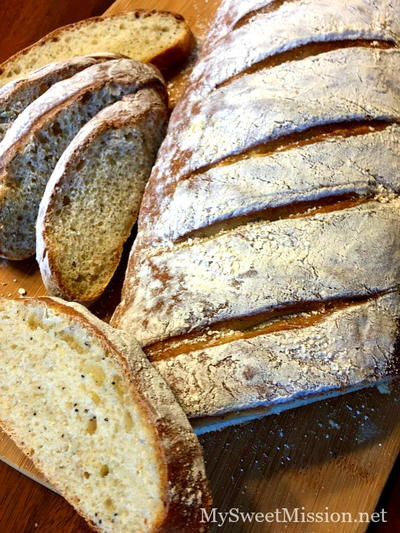 Crusty Artisan 12 Seed and Grain Bread