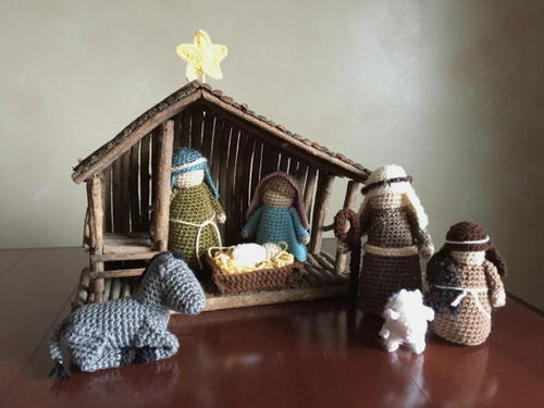 Crocheted Nativity Set