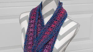 Extra Long Infinity Cowl