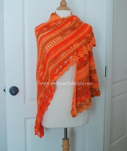 Blessings Ombre Shawl