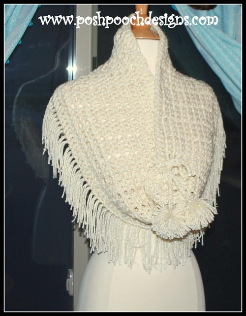 Snow Bound Crochet Cowl