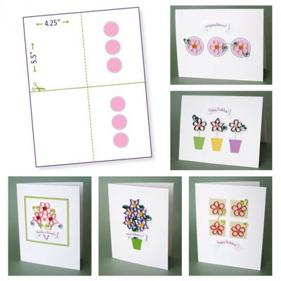 Paper Quilling Template Free Printables