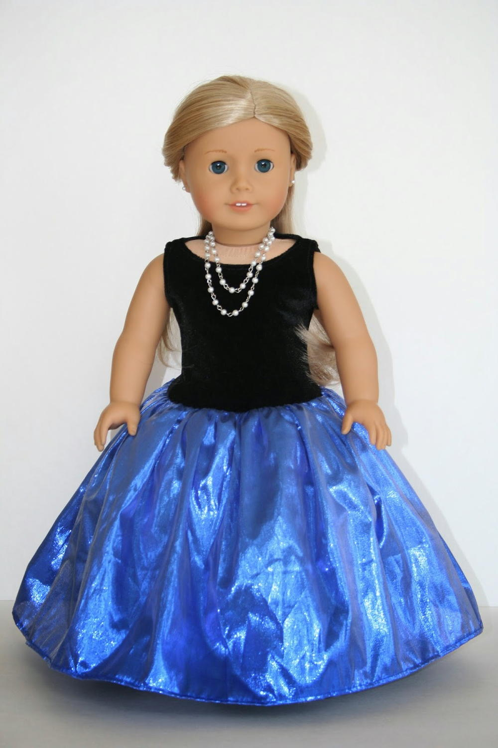 Glamorous Gown Doll Dress Pattern | AllFreeSewing.com
