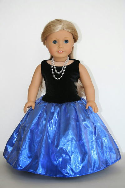 Glamorous Gown Doll Dress Pattern