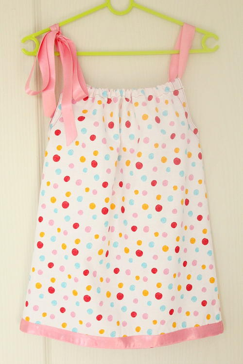 Darling DIY Pillowcase Dress