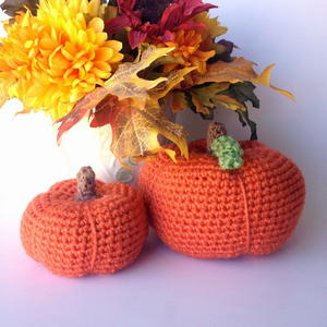 Perfectly Plump Crocheted Pumpkins