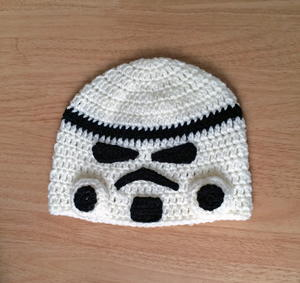 Star Wars Storm Trooper Inspired Beanie