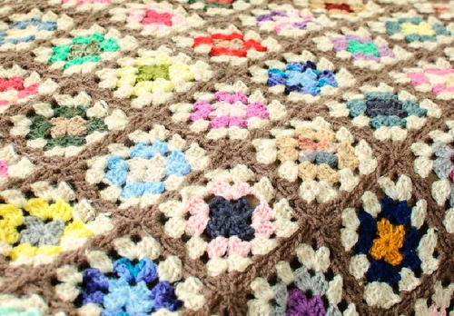 The Amazing Technicolor Crochet Afghan