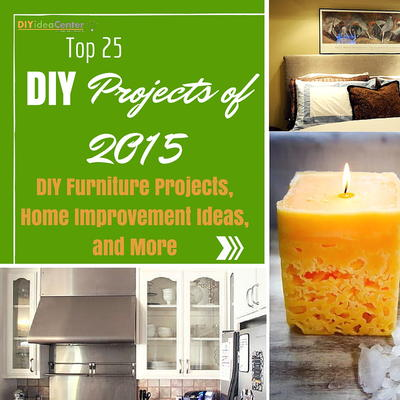 Top 25 DIY Projects of 2015