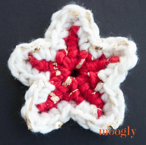 Rustic Luxury Star Ornament