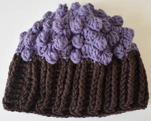 Cupcake Crochet Hat Pattern