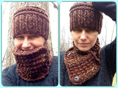 Unisex Earthly Cowl and Hat