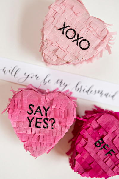Bridesmaid Pop the Question Pinata