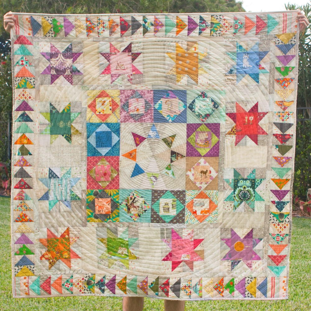 Solstice Medallion Quilt Pattern Favequilts Com
