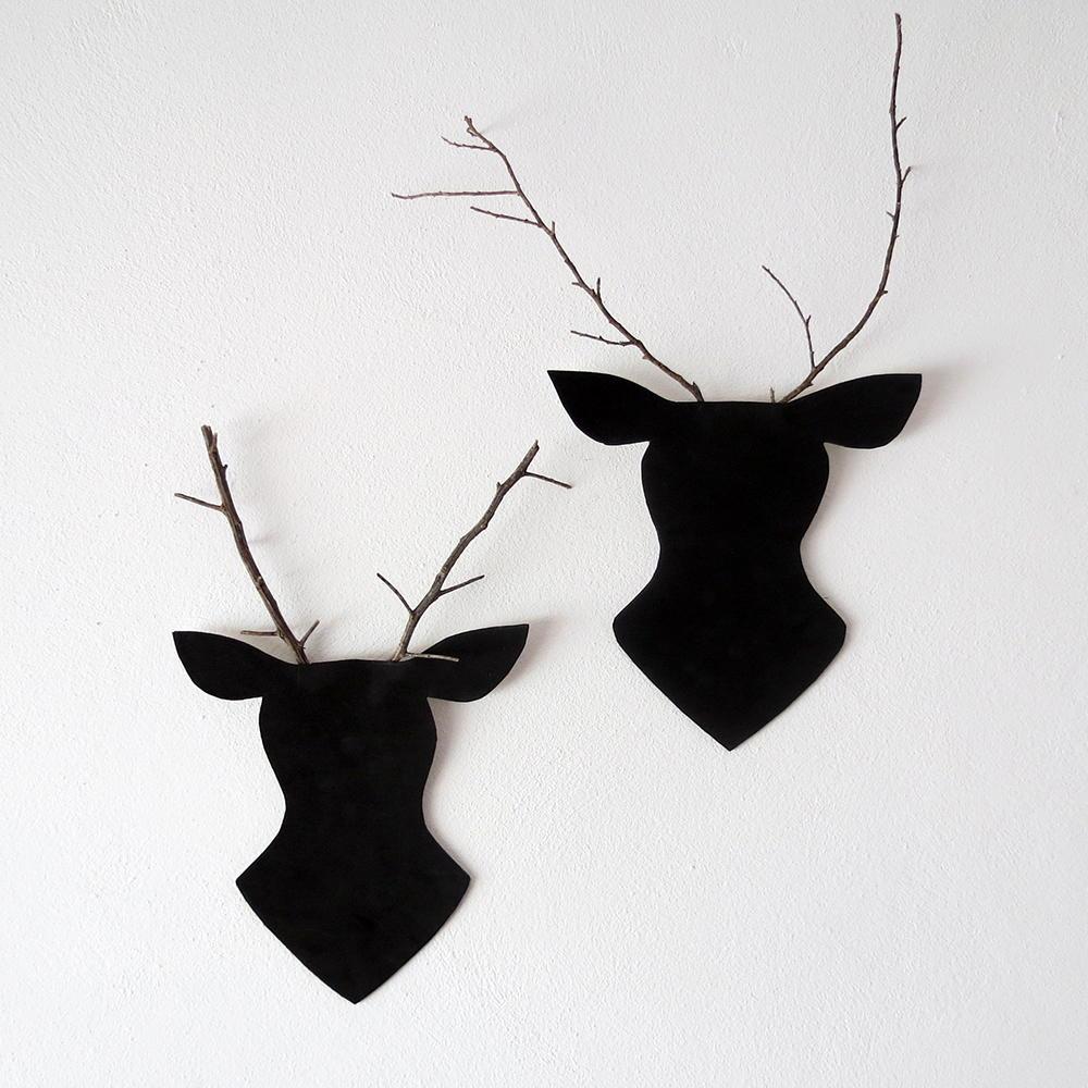 Reindeer Wall Decor Allfreechristmascrafts Com