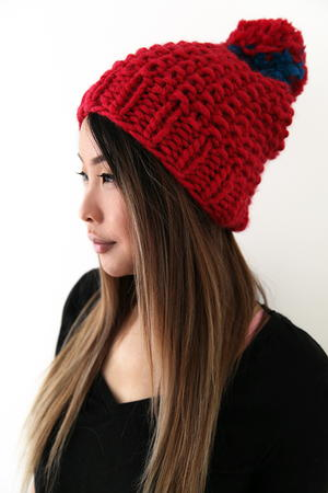 Very Berry Knit Hat