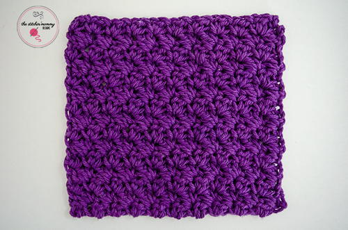Grit Stitch Washcloth
