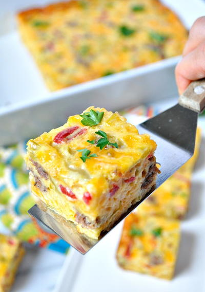 Aunt Bee's Sausage and Cheese Squares_2