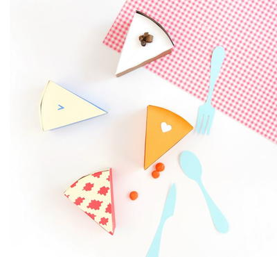 Perfect Pie Piece Treat Boxes