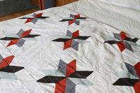 How to Make a Quilt: 34 Half Square Triangle Quilt Patterns