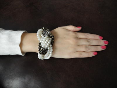 Chic Knotted Twist DIY Bracelet
