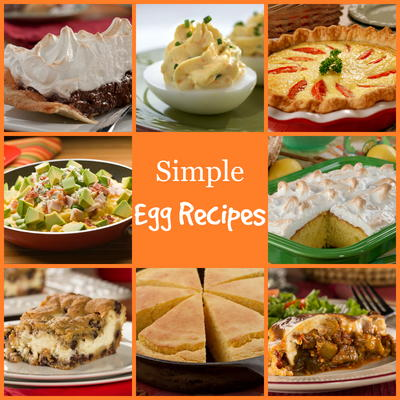 16 Simple Egg Recipes Plus Egg Safety Tips Mrfood Com
