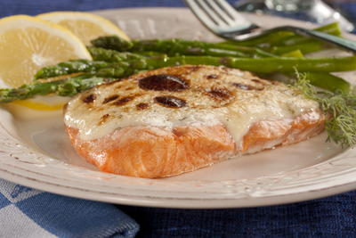 EDR Golden Topped Salmon