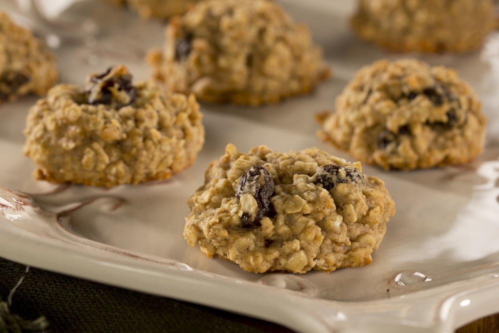 Grandma's Oatmeal Raisin Cookies | EverydayDiabeticRecipes.com