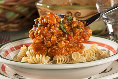EDR Ground Turkey Pasta Sauce