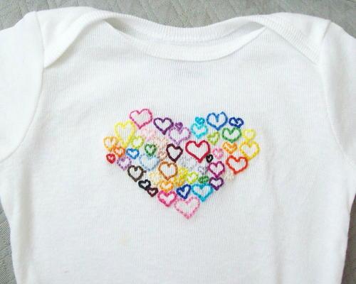 Little Lovers Onesie Sewing Pattern   AllFreeSewing.com
