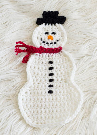 Snowman Pot Holder Pattern