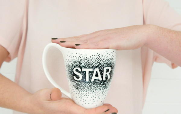 Message Sharpie Mug