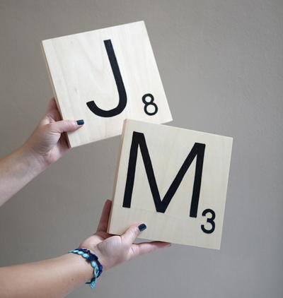 Scrabble Tile Table Numbers