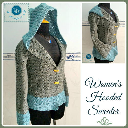 Free Crochet Zen Jacket Pattern : Popular Zen Jacket AllFreeCrochet.com
