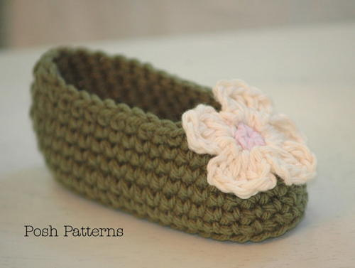 Simply Adorable Crochet Baby Booties