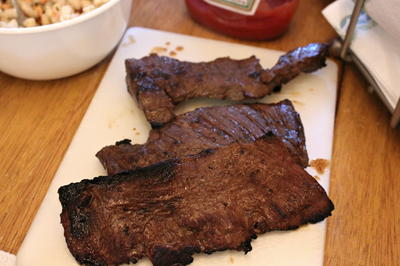 Beer Braised Slow Cooker Flank Steak