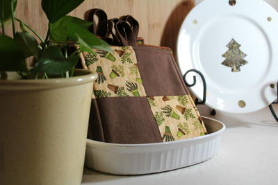 Easy No-Binding Pot Holder Pattern