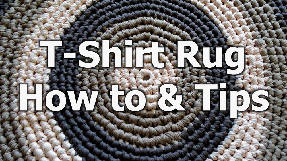 T Shirt Yarn Round Rug Favecrafts Com