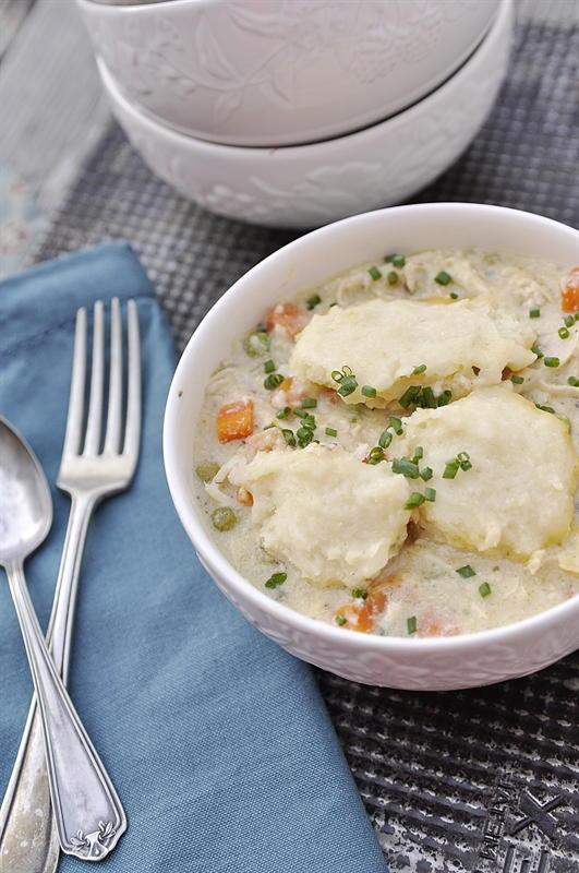 Slow Cooker Bisquick Chicken And Dumplings Recipelion Com