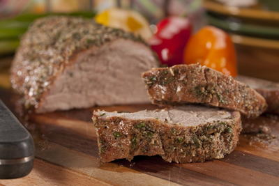 EDR Herb Crusted Pork Tenderloin