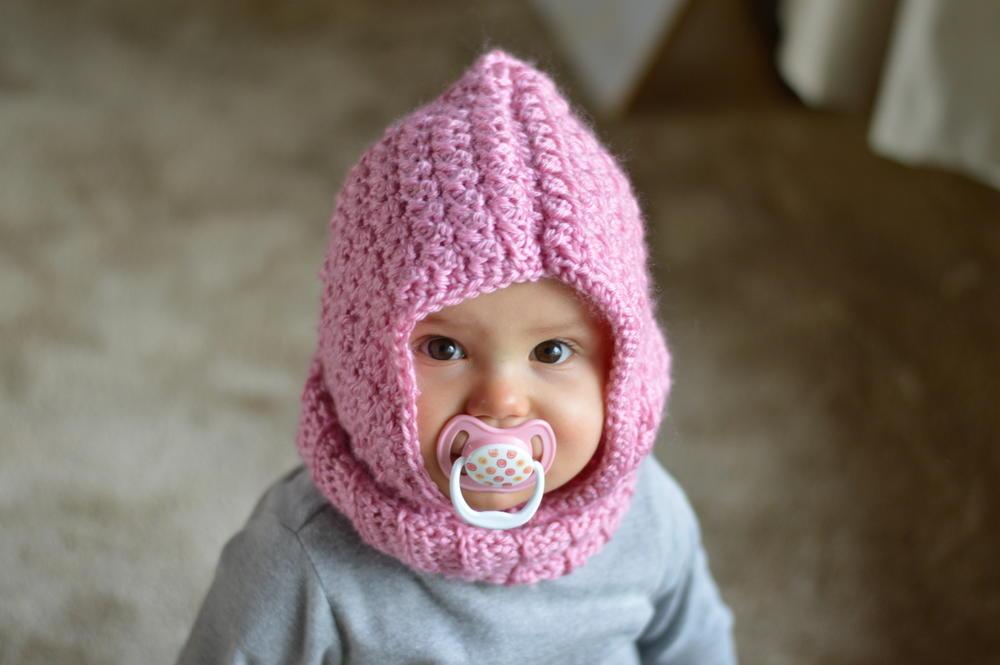 Baby Hooded Cowl Allfreecrochet Com