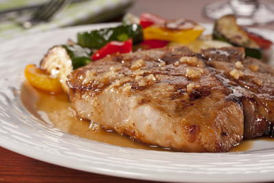 EDR Honey Garlic Pork Chops