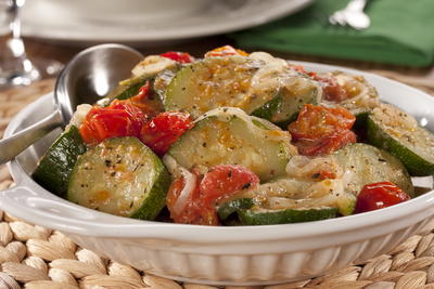 EDR Italian Style Zuchinni with Tomatoes