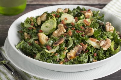 EDR Kale and Brussels Salad